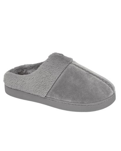 Evercreatures - Moco Grey Mule Slipper - Grey
