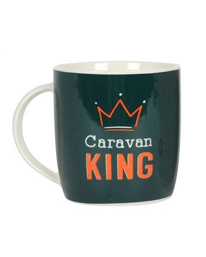 Caravan King & Queen Mugs - Ceramic