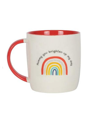 Evercreatures - You Brighten My Day Rainbow Mug - Rainbow
