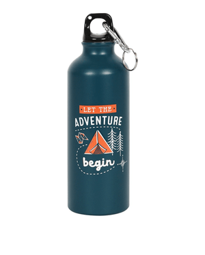 Metal Adventure Water Bottle - Navy