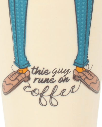 Evercreatures - Running on Coffee Travel Mug - Ceramic