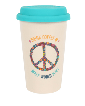 World Peace Travel Mug - Ceramic