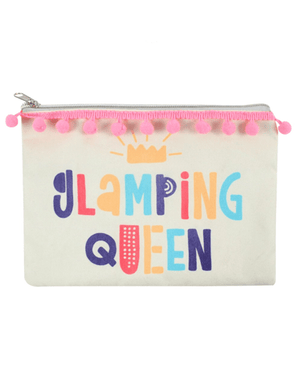 Evercreatures - Glamping Queen Makeup Bag - Cotton
