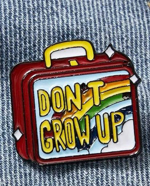 Evercreatures - Don't Grow Up Pin Badge