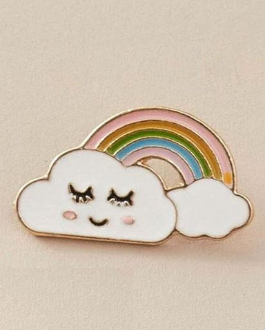 Evercreatures - Happy Sleepy Rainbow Pin Badge