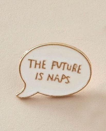 Evercreatures - Future Naps Pin Badge