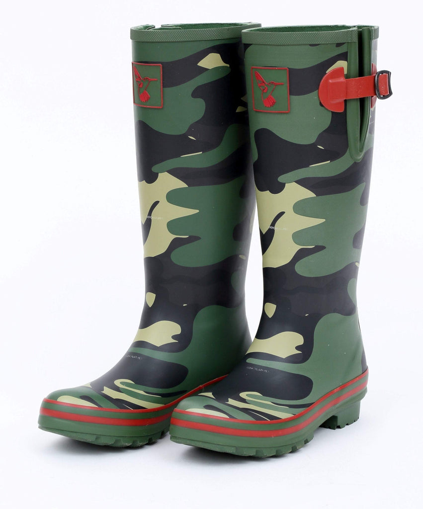 Evercreatures - Evercreatures Camouflage Tall Wellies