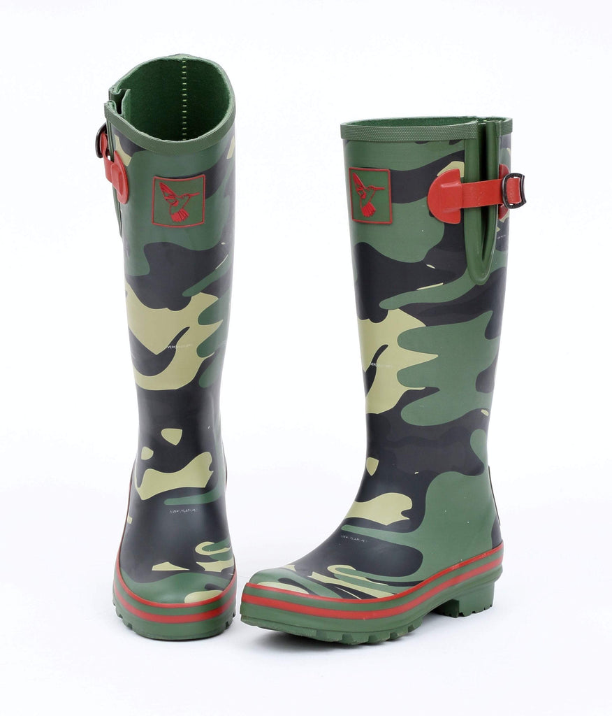 Evercreatures Camouflage Tall Wellies