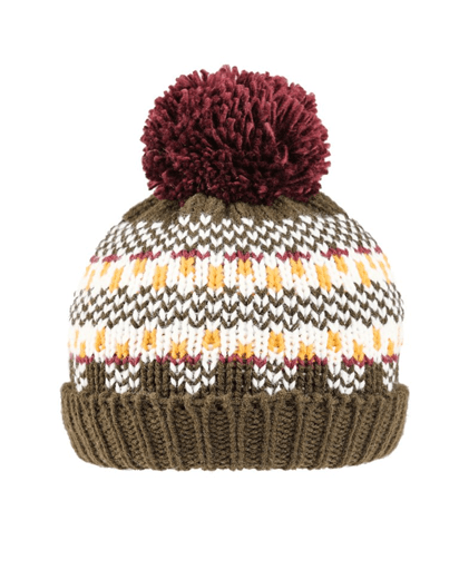 Evercreatures - Boys Felly Knitted Bottle Hat - Olive