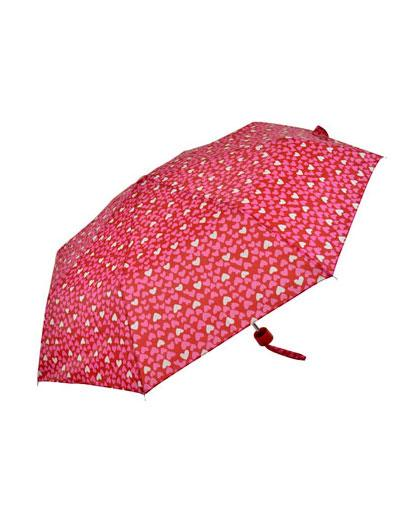 Evercreatures - Supermini Heart Print Umbrella