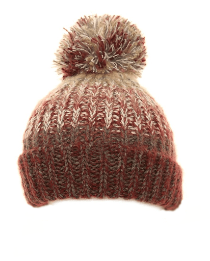 Girls Jano Chunky Knitted Bottle Hat - Pale Pink