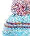 Evercreatures - Ladies JoJo Bobble Hat Metalic - Fleece Lined - Aqua