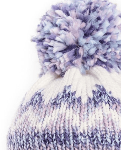 Evercreatures - Ladies Judy Bobble Hat - Ice