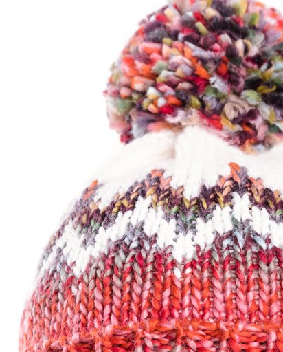Evercreatures - Ladies Judy Bobble Hat - Terracotta