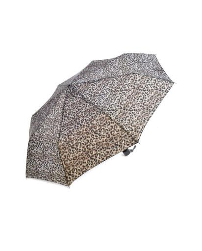 Evercreatures - Supermini Leopard Print Umbrella
