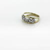 9ct Yellow Gold Five Stone Diamond Ring