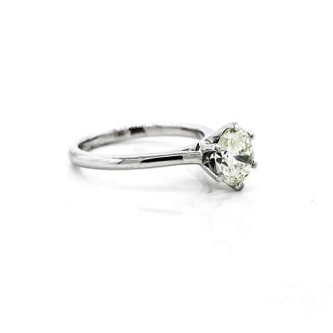 18ct White Gold Diamond Solitaire 1.02ct