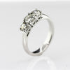 ladies three stone Diamond Ring