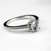Silver CZ Altr ladies  Halo Ring ZR011STCZ