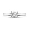 Orlla 18ct white Gold Ladies  diamond Trefoil Solitaire Ring
