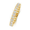 ladies diamond yellow gold wedding ring