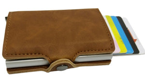 Card Holder in Brown