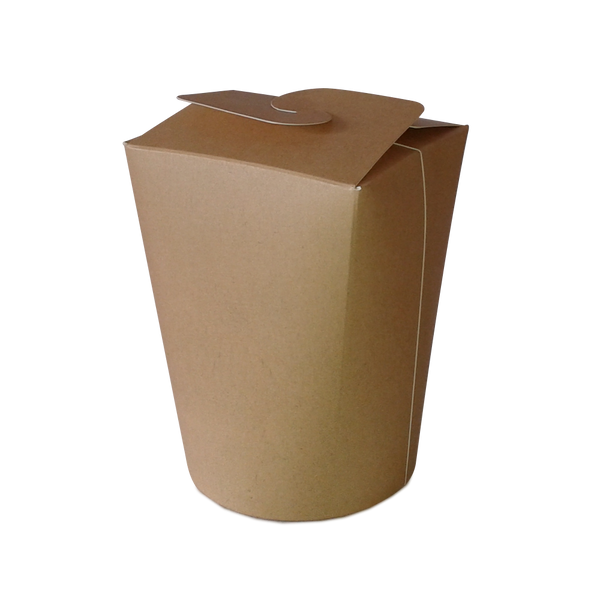 Foodpack.green: Food Cup Take Away Large 750ml biodegradabile compostabile