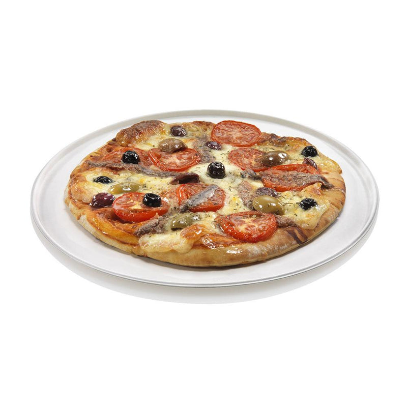 Foodpack.green: Piatto pizza 32 cm in polpa di cellulosa