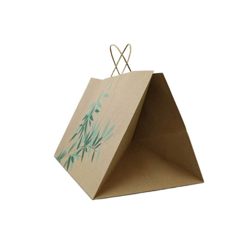 Foodpack.green: Shopper in Carta Avana Fondo Largo 43+33x33 cm