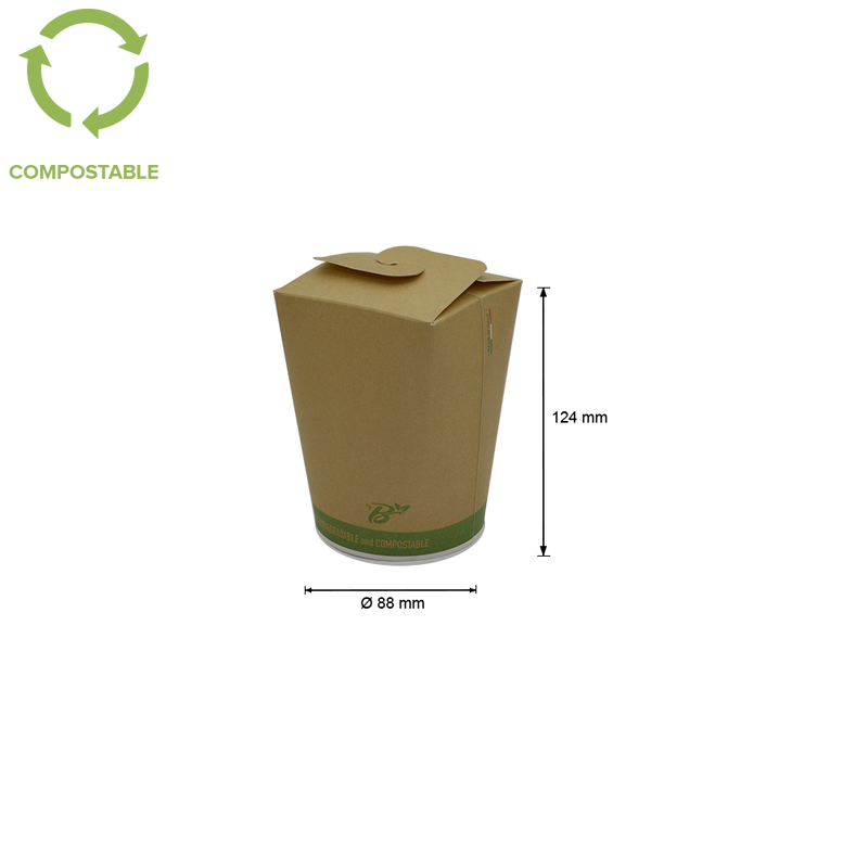 Foodpack.green: Food Cup Take Away 750 ml
