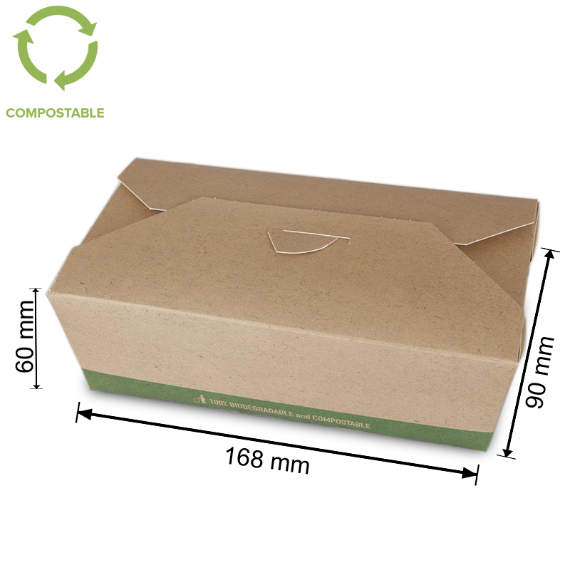 Foodpack.green: Foodbox in cartoncino Large