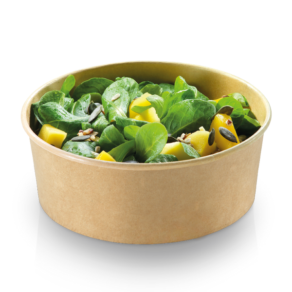 Coppa Kraft Bio (750ml) Ø15x6cm Compostabile