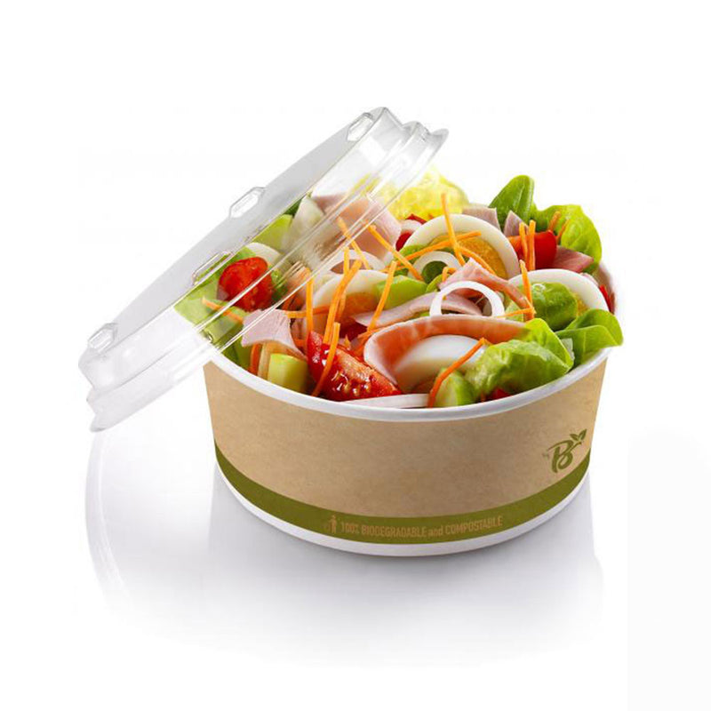 Foodpack.green: Fondina in cartoncino bio avana 800 ml