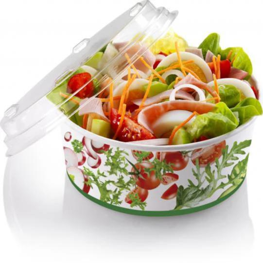 Foodpack.green: Coppa Salat S80 in cartoncino 800 ml