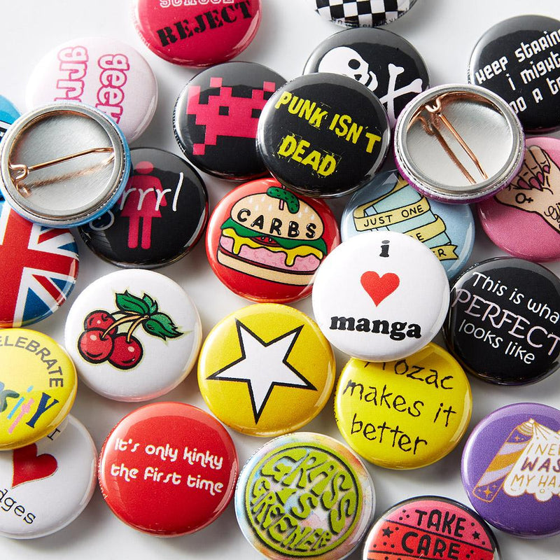 How to make custom button badges