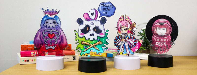 Zap Creatives | Tutorial | Create printed LED standees using