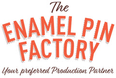 The Enamel Pin Factory, UK Enamel Pin Manufacturers