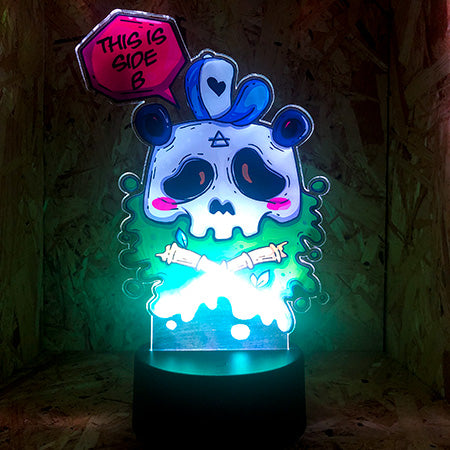 Custom printed LED Panda Lamp