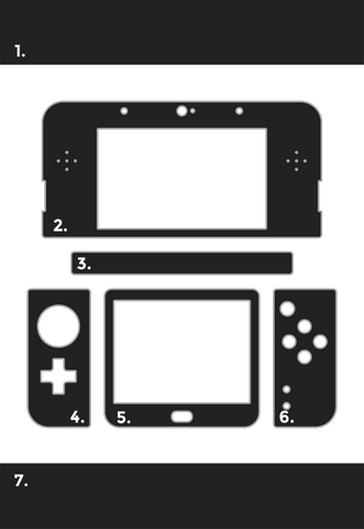 Create your own custom Nintendo 3DS Skins