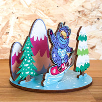 Zap! Creatives Birch Plywood Standees - 90mm x 125mm