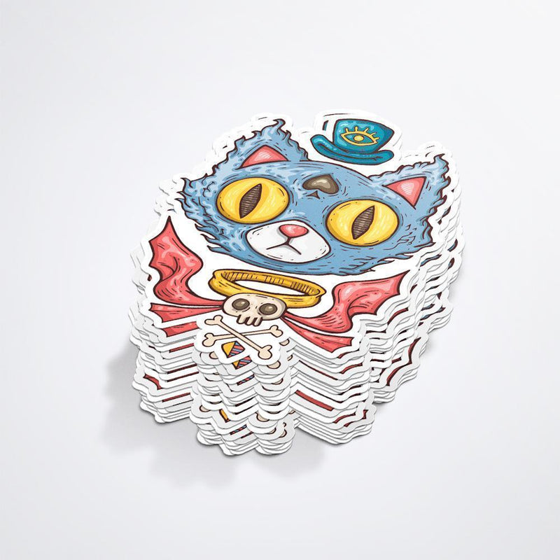 Zap! Creatives Custom Shaped Eco Paper Stickers 10x10cm