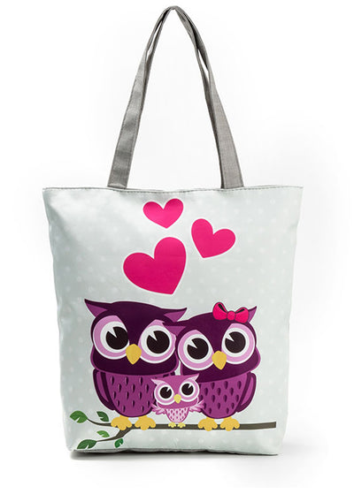 Owl Handbag Single Shoulder Bag