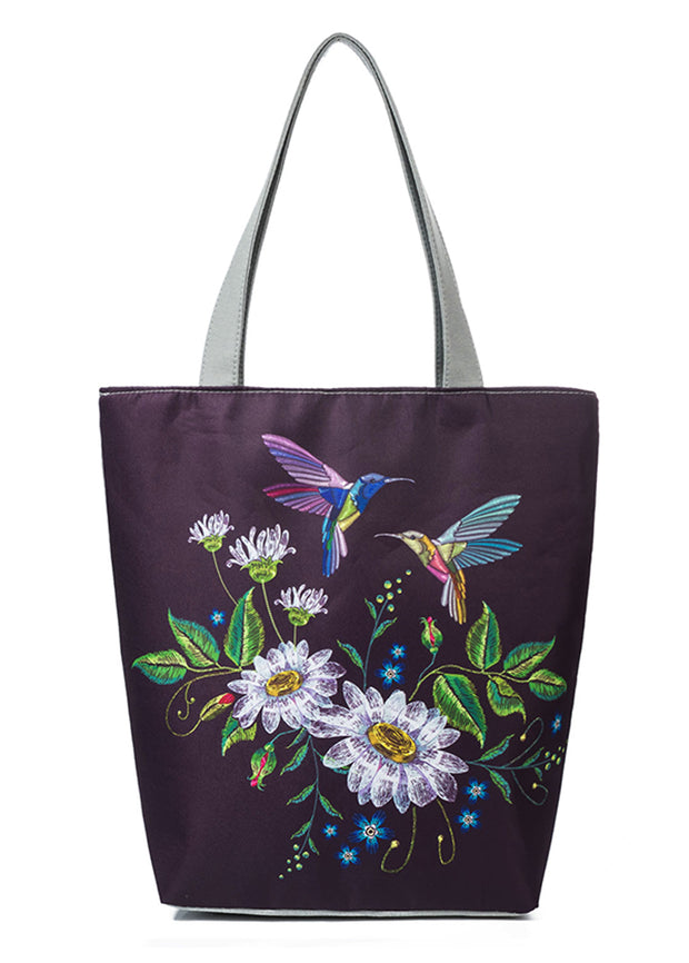 Fruit And Grape Handbag