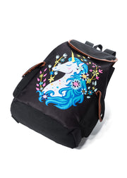 Unicorn Printed Shoulder Bag