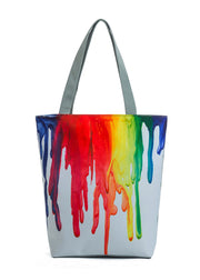 Paint pattern Handbag