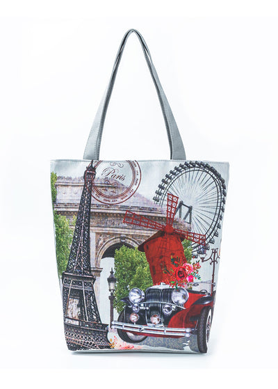 Windmill pattern Handbag
