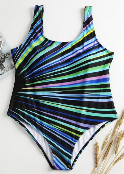 Multicolor Ray Plus One-piece Swimsuit