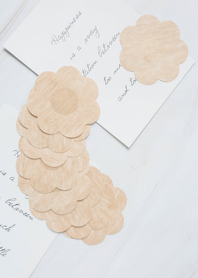 Paper Adhesive  Invisible  Pasties - Plum Blossom Shape