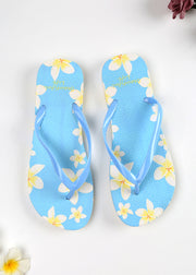 Floral Printed Beach Slippers