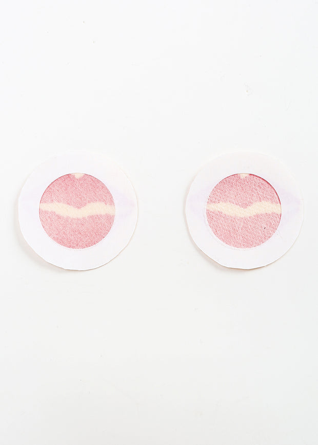 Invisible Disposable Chest Sticker-Sexy Lips